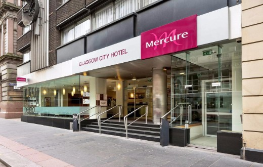 accommodation - Mercure Glasgow City Hotel