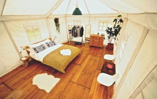 accommodation - Royal Indian Shikar Tent at Bestival