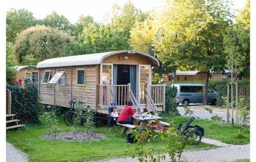 accommodation - Gypsy Caravan at Camping Indigo Paris