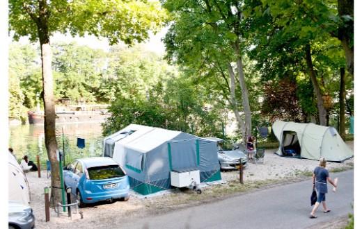 accommodation - Car Pitch at Camping Indigo Paris