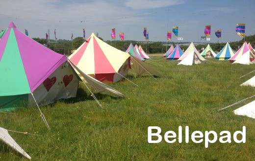 accommodation - Bellepad at Bestival