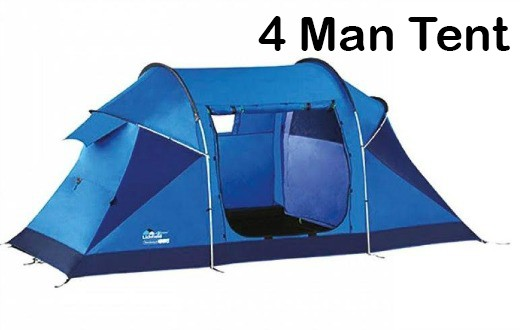 Pre-Pitched Tent 2