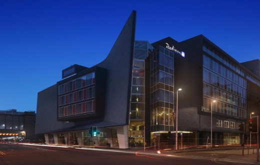 accommodation - Radisson Blu Hotel Glasgow