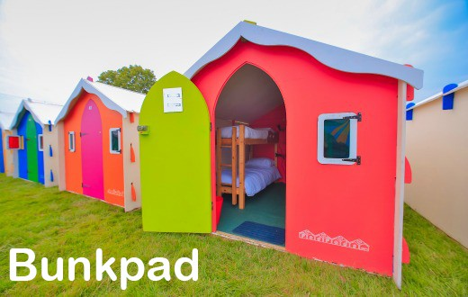accommodation - Bunkpad at Bestival