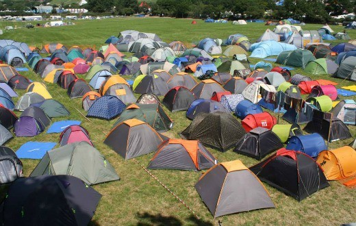 accommodation - Pre-Pitched Tent Package at Bestival