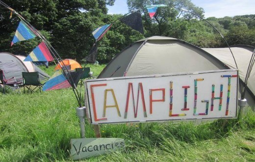 accommodation - Pre-Pitched Tent at Bestival