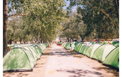 Ultra Beachville Campsite 5