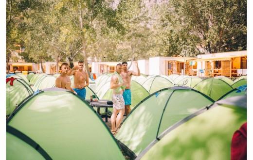 Ultra Beachville Campsite 4
