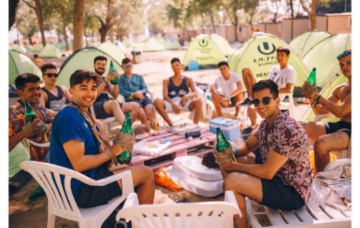 Ultra Beachville Campsite 1