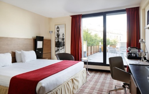 accommodation - Courtyard by Marriott Paris Boulogne