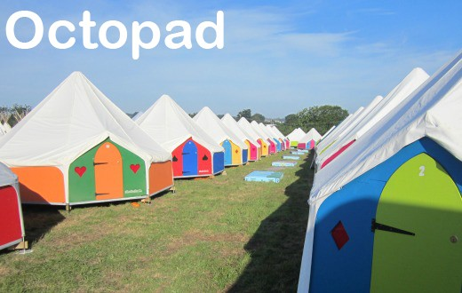 accommodation - Octopad at Bestival