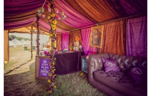 accommodation - Hotel Bell Tent at Bestival (Standard Packages)