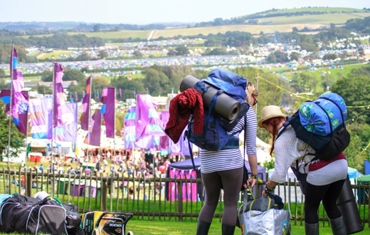Bestival Arrival