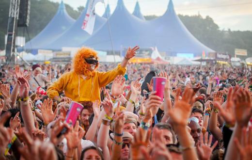 Bestival Crowd