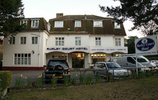 accommodation - Burley Court Hotel