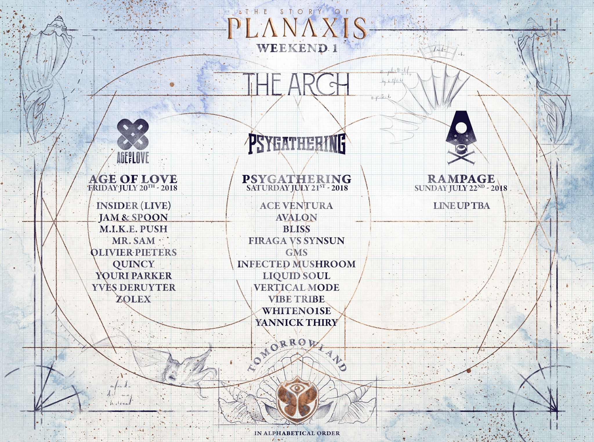 Tomorrowland 2018 Lineup: MainStage Artists and Whole Stages