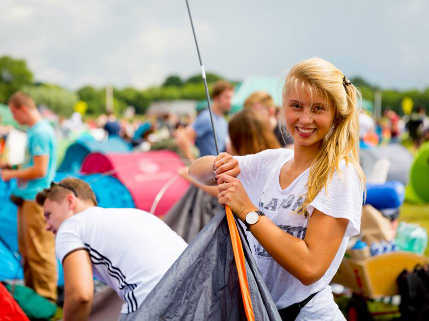 Best Festival Tents: Pop Up, 12 Man or