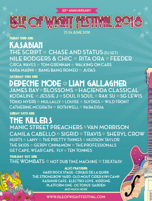 isle of wight festival lineup