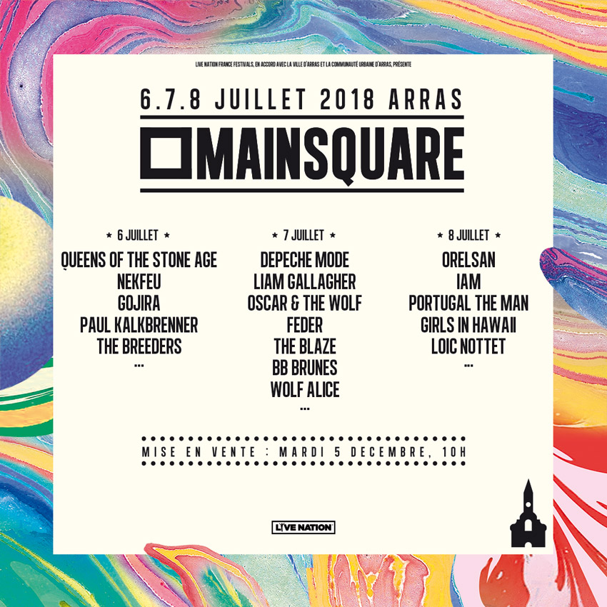 Main Square Festival 2018 More Names Announced