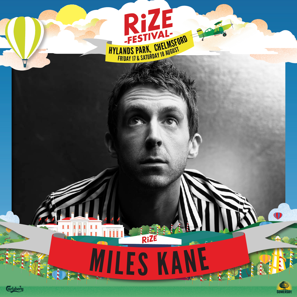 Taking Over: Miles Kane Announced For RiZE Festival 2018