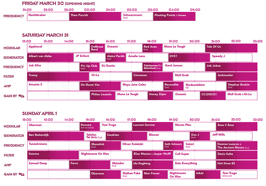 DGTL Amsterdam's Timetable is Here - Festicket Magazine