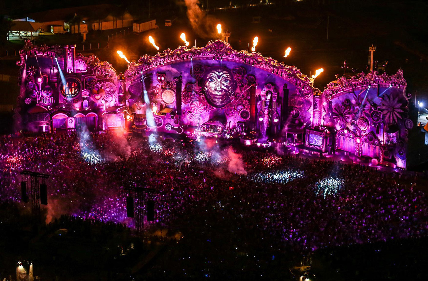 Tomorrowland MainStage: 2005 to Now, a History in Pictures