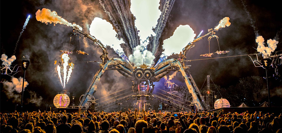 Arcadia Adds Sven Väth, Rudimental and Noisia to 10th Anniversary Lineup