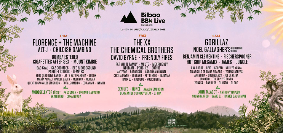 Bilbao BBK Live: Florence & The Machine, Childish Gambino y más completan el cartel 2018