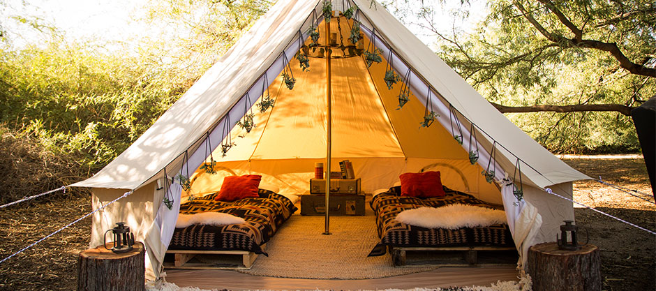 Ultimate VIP & Glamping Packages