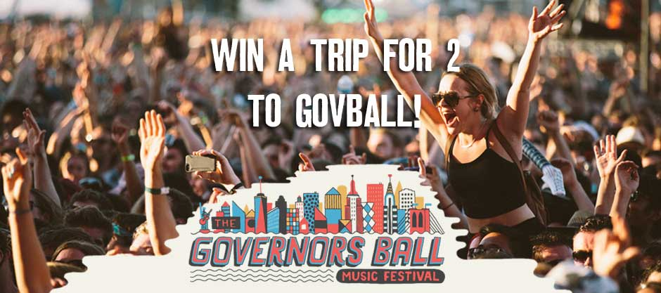 Win a trip for two to Governors Ball Music Festival 2015!