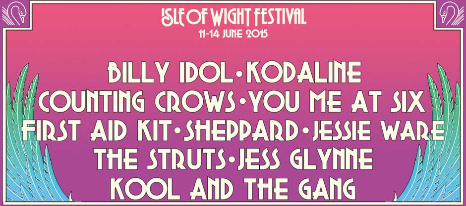 Isle Of Wight Festival 2015: Ten new acts announced