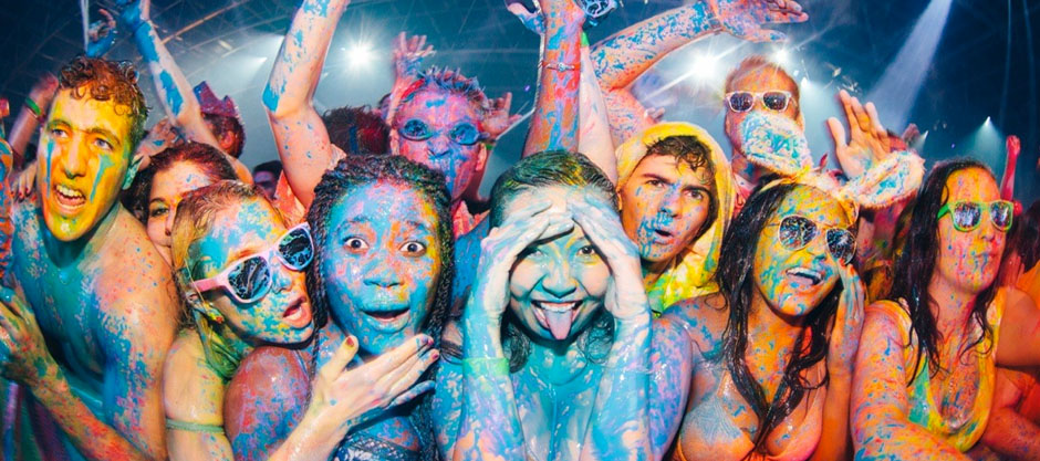 Paint Parties: From Zombies To Festivals