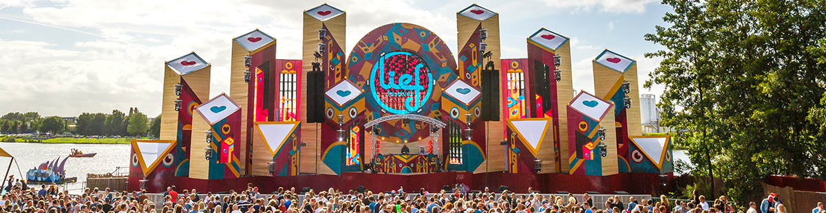 Lief Festival: Creating the Perfect Stage Design, with Bram Schinkel