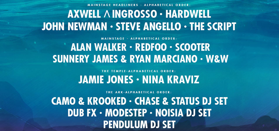 Neversea 2018 Lineup Awash With A-Listers
