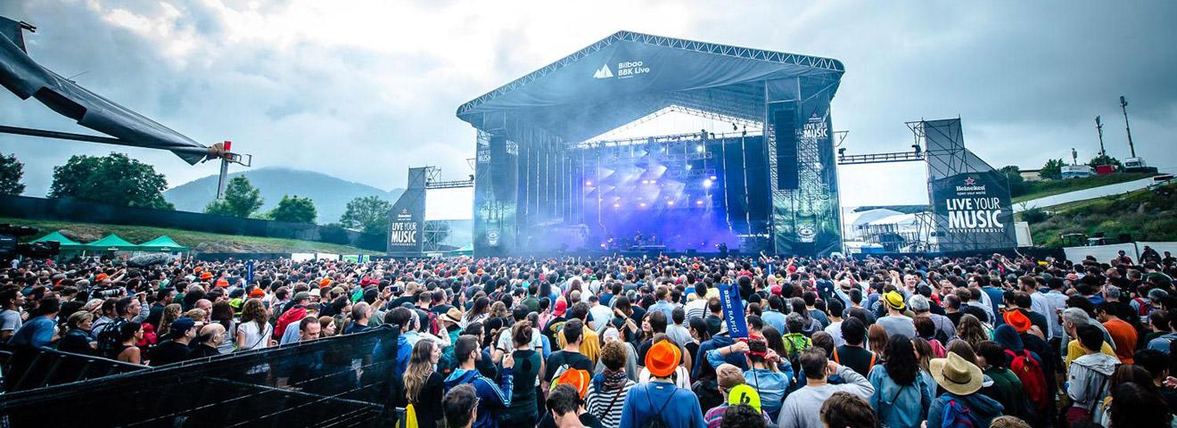 Gorillaz and The xx to Headline Bilbao BBK Live 2018