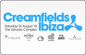 Creamfields Ibiza 2015