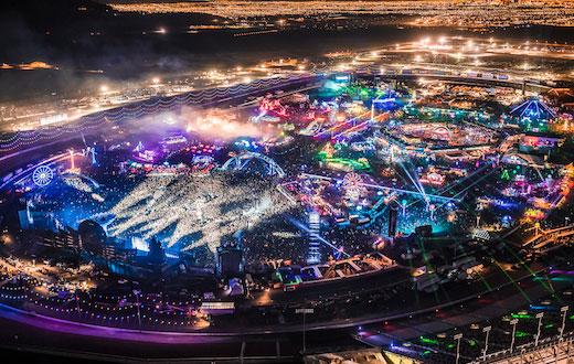 Electric Daisy Carnival EDC Las Vegas Tickets Packages - Edc las vegas map 2016