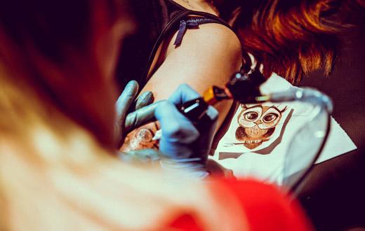 Armin Van Buuren Tattoo
