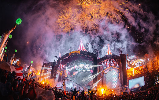 Tomorrowland on Front House With Fence