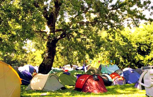 Balaton Sound camping